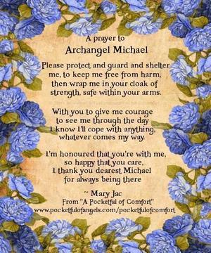 'A prayer to Archangel Michael' can also be found