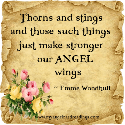 Angel Quote - Image Quote - Inspirational Quote - Uplifting ...