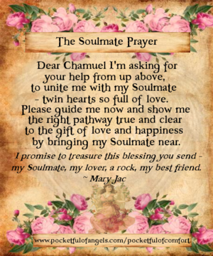 Archangel Chamuel Soulmate Prayer A Prayer For True Love