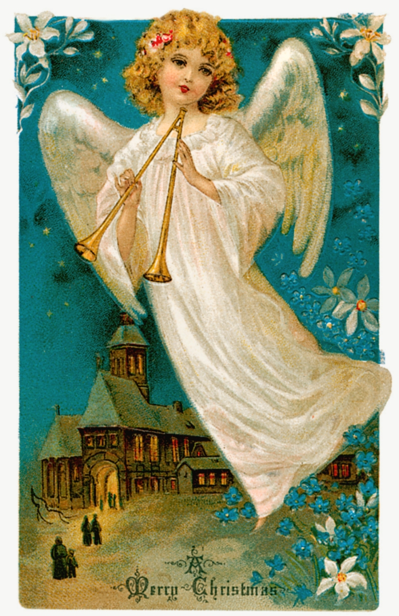 Vintage Christmas Angels - Victorian Angels - The Gallery - Image 14