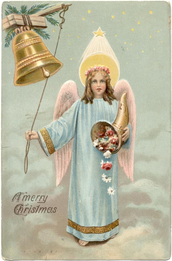 Vintage Christmas Angels - Victorian Angels - The Gallery - Image 2