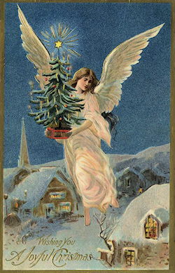 Vintage Christmas Angels - Victorian Angels - The Gallery - Image 5